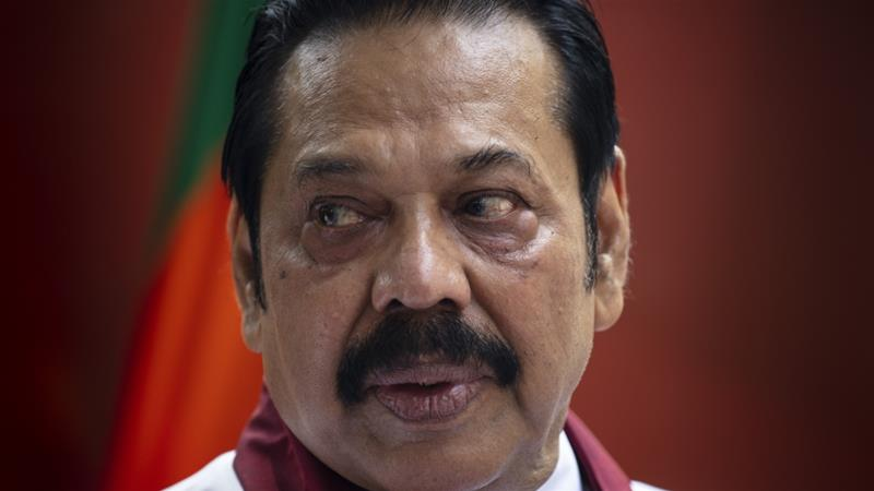 Sri Lanka parliament 'votes against newly appointed PM Rajapaksa'