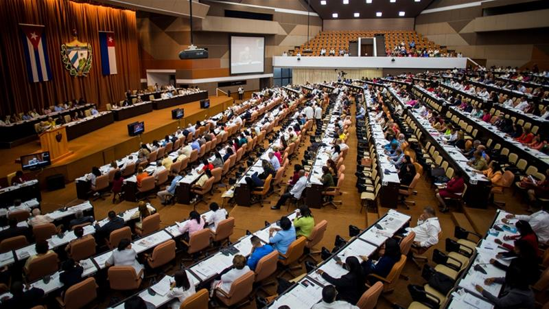 Cuban parliament unanimously approves electoral law