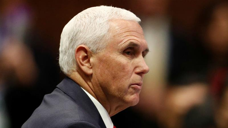 Mike Pence: No place for 'empire and aggression' in Indo-Pacific