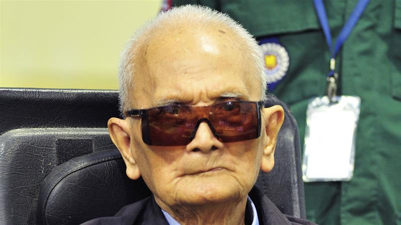 Cambodia: Senior Khmer Rouge leader Nuon Chea dies at 93