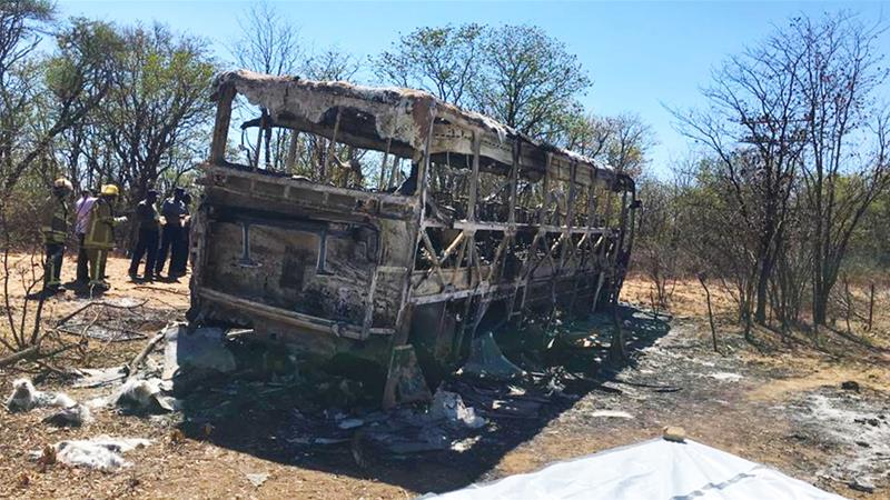 More than 40 killed in Zimbabwe bus accident | Zimbabwe News | Al