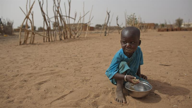Refugees from Senegal have fled insecurity in Sahel region, which has been made worse by food shortages [Rebecca Blackwell/AP Photo]