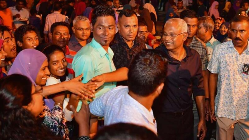 Ibrahim Mohamed Solih won a contentious election in September, promising to restore democracy [Maldives president's office Handout/Al Jazeera]