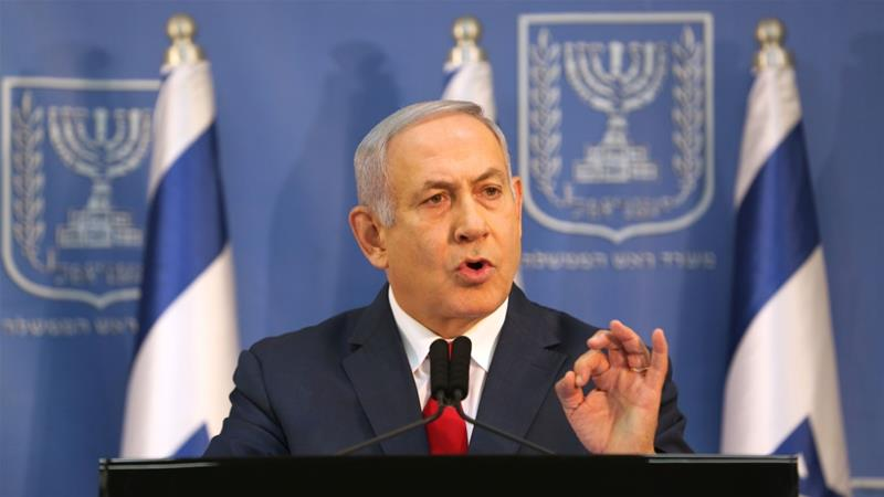 Netanyahu said there was 'no need' for national elections [Corinna Kern/Reuters]