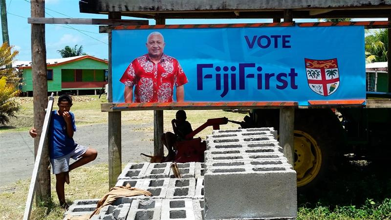Fiji PM Frank Bainimarama re-elected for second term