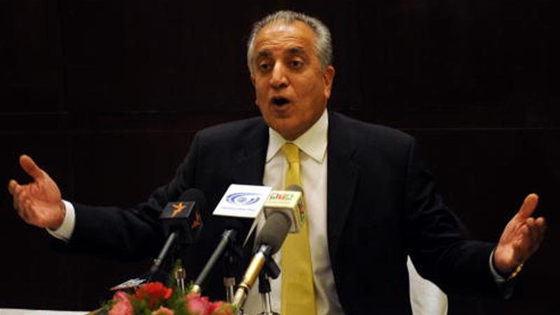 Khalilzad 'Cautiously Optimistic' About Peace Talks