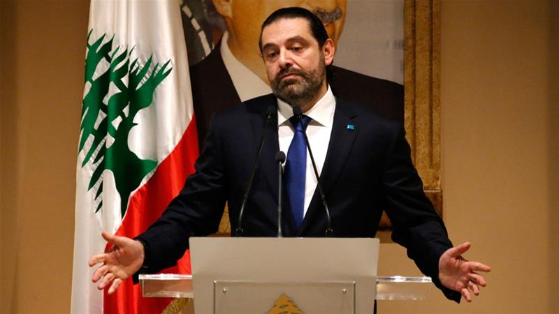 Prime Minister-designate Saad Hariri has accused Hezbollah of hindering the formation of a new government [Hussein Malla/AP]