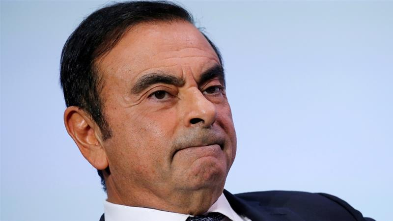 Nissan's partner Renault has refrained from firing Ghosn as chairman [Reuters]
