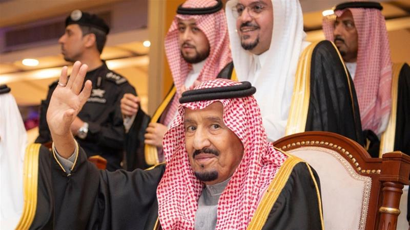 Saudi Arabia's King Salman bin Abdulaziz has addressed the kingdom's Shura Council but refrained from mentioning the case of murdered Saudi journalist Jamal Khashoggi.