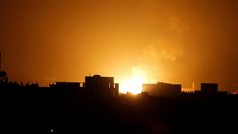 Saudi-Led Coalition Says It Attacked Airbase, Missile Sites in Sanaa Airport