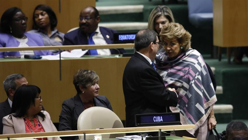 UN votes to condemn US on Cuban embargo