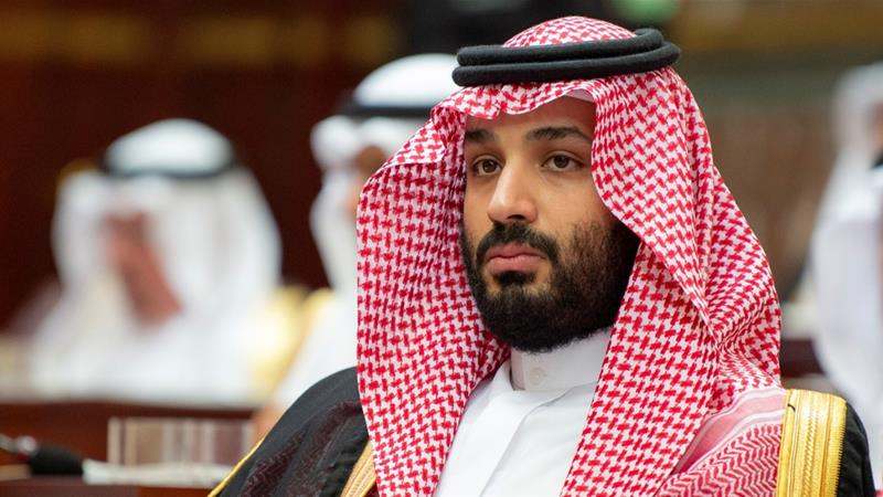 Saudi Crown Prince <span>Mohammed bin Salman</span> attends a session of the Shura Council in Riyadh on November 19, 2018 [Reuters]