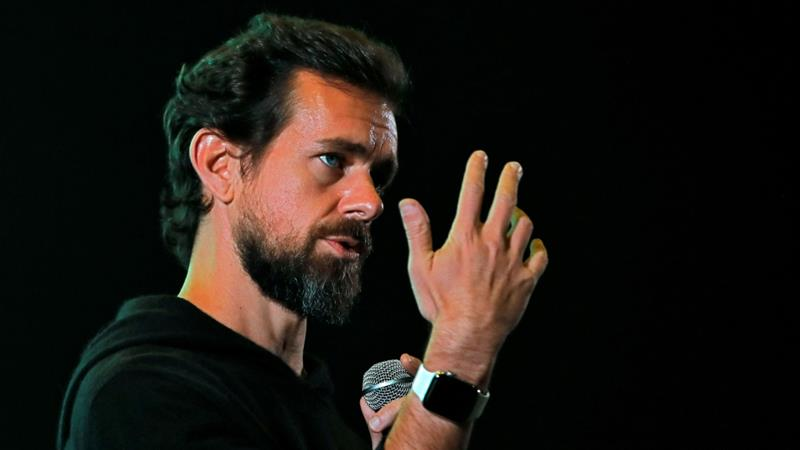 A group of Indian journalists and activists has accused Twitter and CEO Jack Dorsey of 'misrepresentation and half-truths' [Anushree Fadnavis/Reuters]