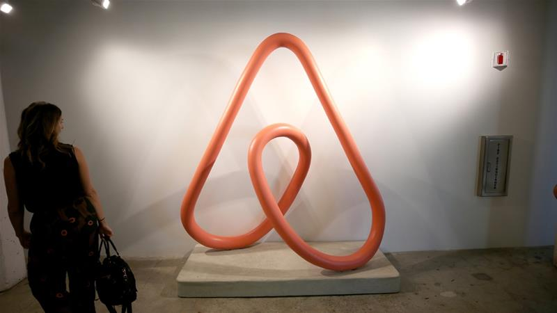 Airbnb said it will remove its listings in the illegal Israeli settlements in the occupied West Bank [Reuters]