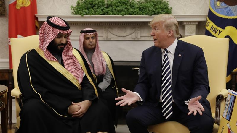 Trump muddies water over 'very important ally' Crown Prince's guilt