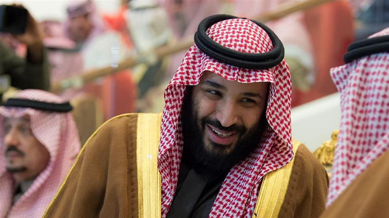 Prince Mohammed could be responsible as Saudi Arabia's defence minister for war crimes in Yemen [Bandar Algaloud via Reuters]