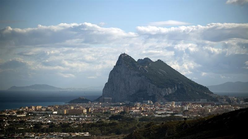 Gibraltar, known to locals as The Rock, has long been a point of contention between Spain and the UK [Jorge Guerrero/AFP]