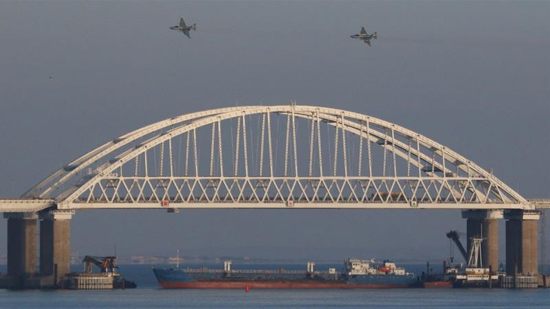 Territory Moscow accuses Kiev of violating is a 12-nautical-mile strip in the Black Sea off Crimea's coast [Pavlishak Alexey/Reuters]