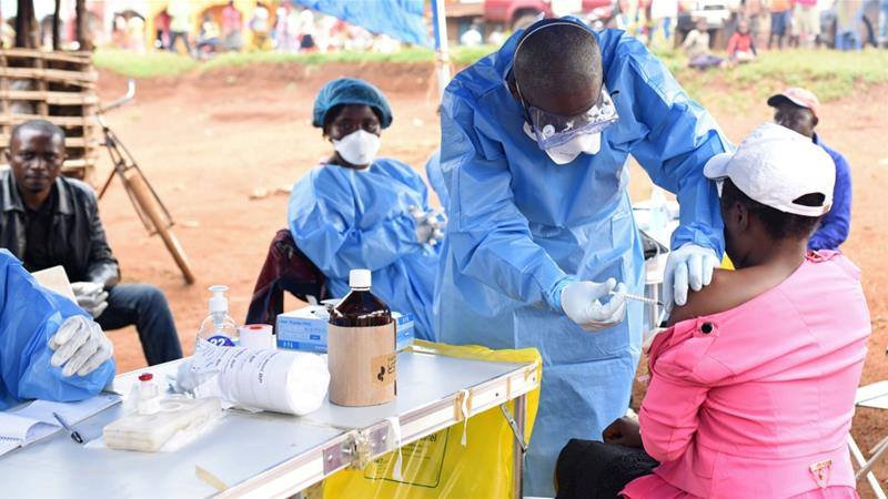 As of November 21, there have been 373 suspected cases of Ebola, including 347 confirmed cases in DRC [Olivia Acland/Reuters]