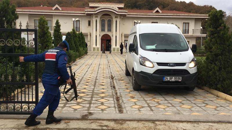 Jamal Khashoggi: Turkish villas scoured in search for murdered Saudi journalist's remains
