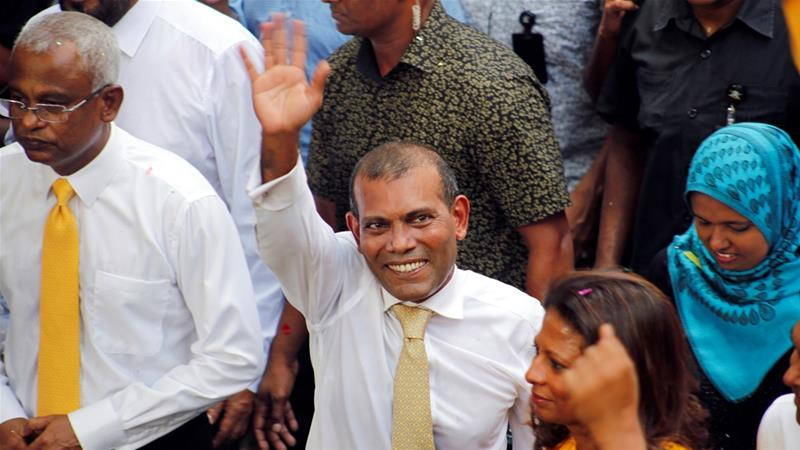 Maldives court clears jail sentence of Mohamed Nasheed