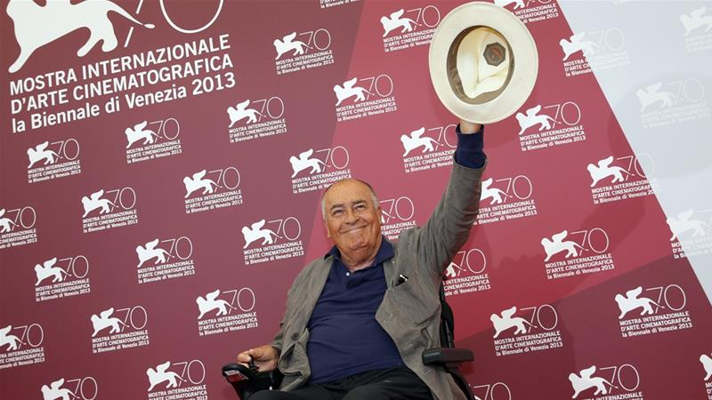 Bertolucci was awarded an honorary Palme d'Or for his life's work at the 2011 Cannes Film Festival [File: Alessandro Bianchi/Reuters]