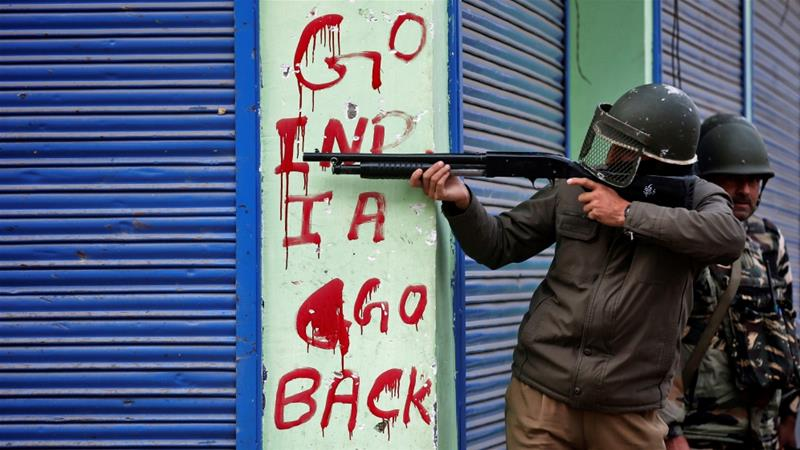 The BJP has long favoured a hardline approach to quell the armed revolt in Kashmir [File: Danish Ismail/Reuters]