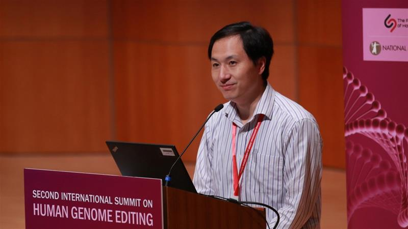 Chinese scientist pauses 'gene-edited baby' trial after outcry