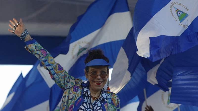 US imposes sanctions on Nicaragua's vice president and adviser