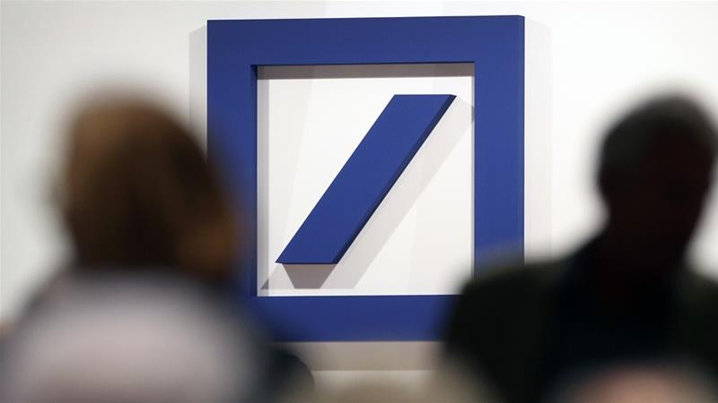 Deutsche Bank is cutting about a fifth of its workforce as it exits the global equities business and will scale back on investment banking [Daniel Roland/AFP]