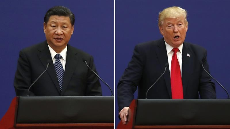 A prolonged trade war for US and China could have significant repercussions for the global economy [Andy Wong/AP Photo]
