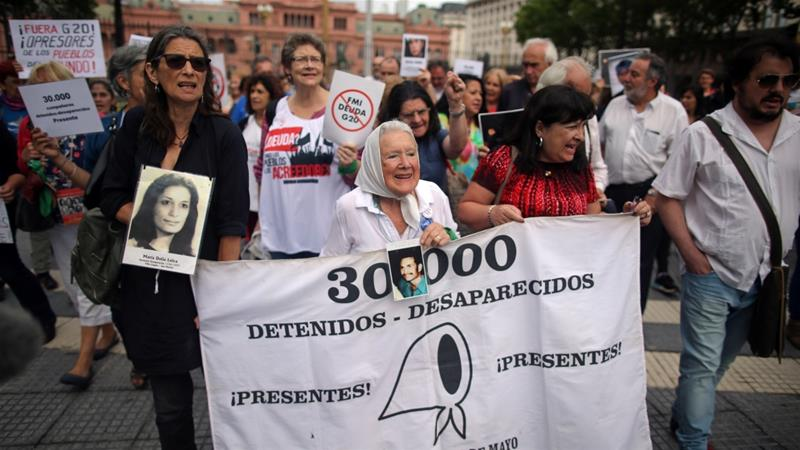 Mothers of Argentina's disappeared march against G20