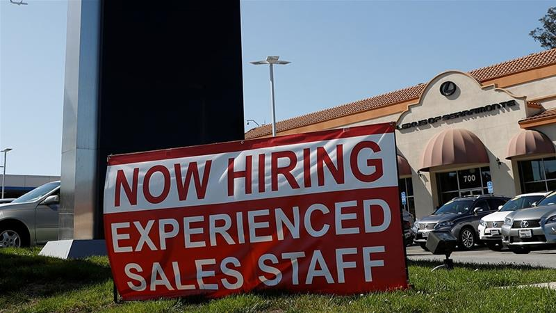 Some 250,000 jobs were created last month beating expectations
