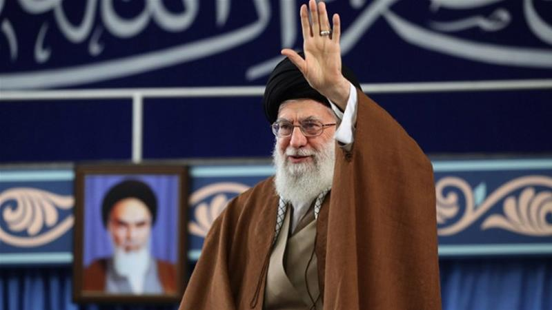 Khamenei was speaking on the eve of the anniversary of the 1979 takeover of the US embassy in Tehran