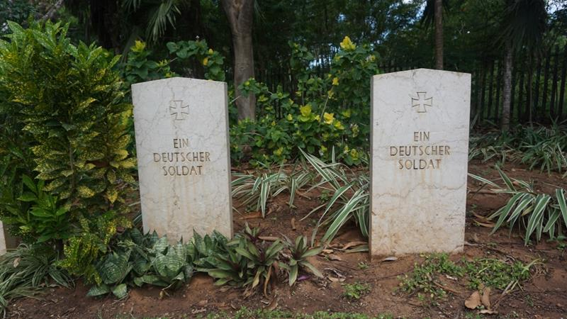 While there are some WWI cemeteries for European soldiers, there are no burial grounds for Africans [Kathleen Bomani/Al Jazeera]
