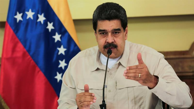 Maduro blames the crisis on an 'economic war' against his socialist country by opponents, including the US [File: Reuters]