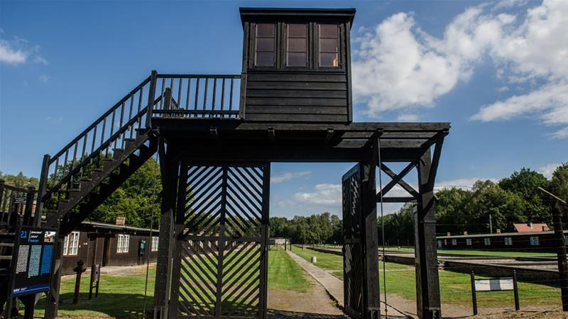 The man was a watchman from 1942 to 1944 at the Stutthof concentration camp [KFP/AFP]