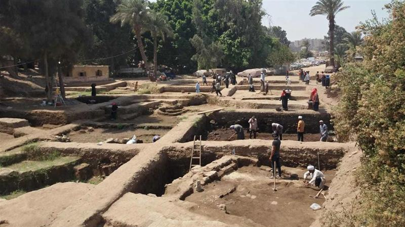 Archaeologists in Egypt have seen a number of important finds in recent years [Egyptian Ministry of Antiquities via AP Photo]