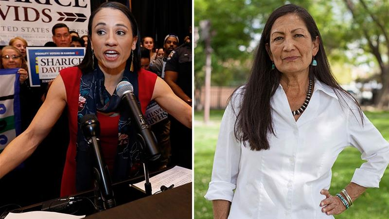 Deb Haaland and Sharice Davids will be the first Native American women in Congress [AP Photo]