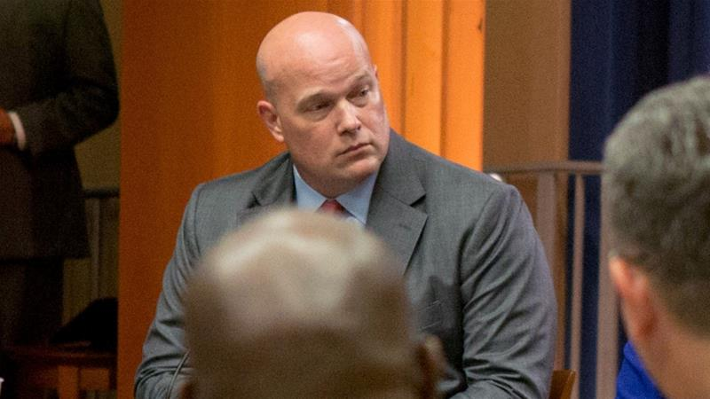 Whitaker was campaign chairman for Mueller witness