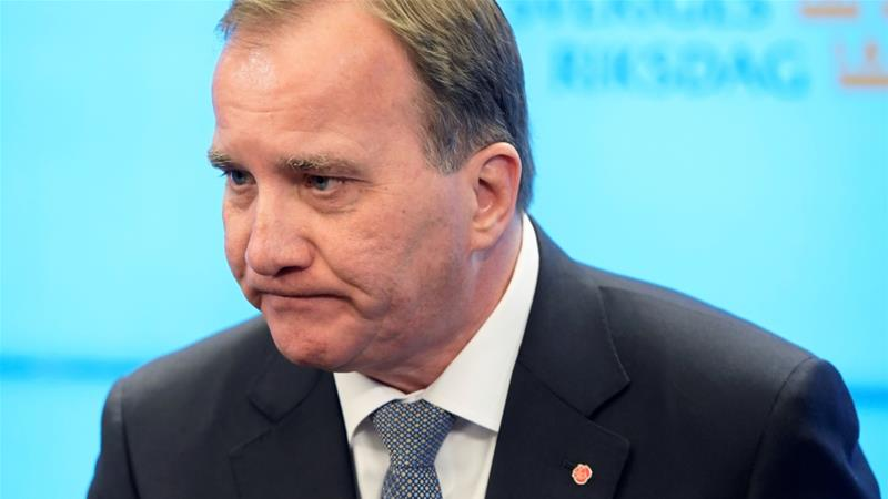 "Swedish PM Stefan Lofven has invited the opposition to talks aimed at a ""cross-bloc cooperation"", after his Social Democratic party failed to gain a majority in the September election [Reuters]"