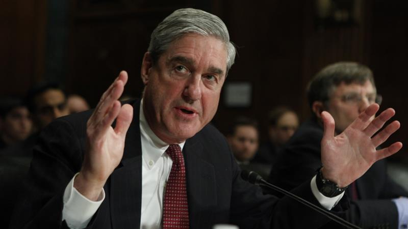 Over the 21-month investigation, Mueller has brought charges against 34 people [Manuel Balce Ceneta/AP]
