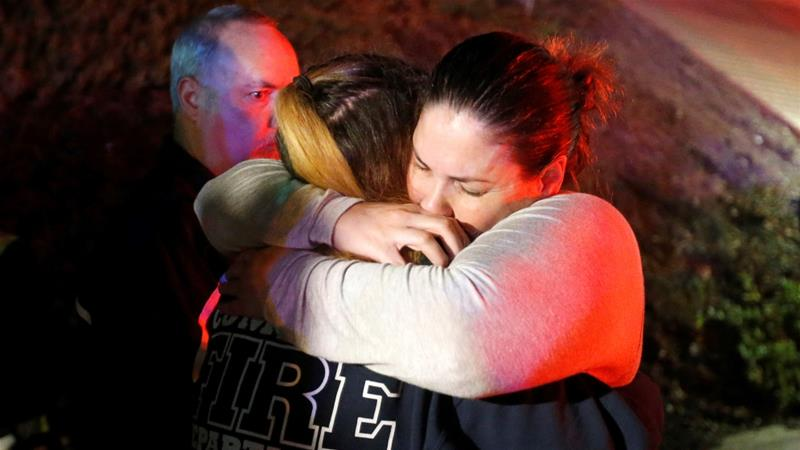 Survivor's footage emerges from inside Californian bar where gunman killed 12
