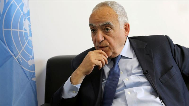Salame is the sixth UN envoy to Libya since Gaddafi was toppled in a NATO-backed uprising in 2011 [Hani Amar/Reuters file]