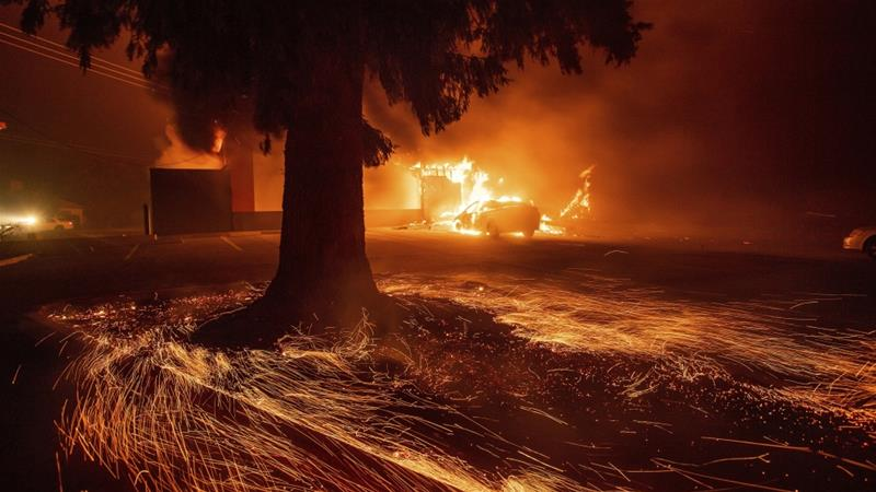 California Faces Its Most Destructive Wildfire In State History