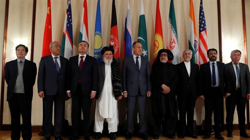 Image result for Picture of Taliban Moscow Conference