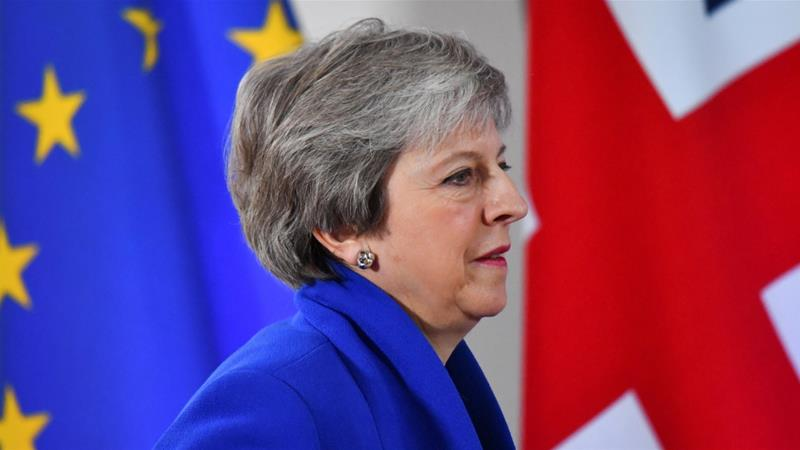 British Prime Minister Theresa May will address Conservative members of parliament privately prior to the confidence vote [File: Dylan Martinez/Reuters]