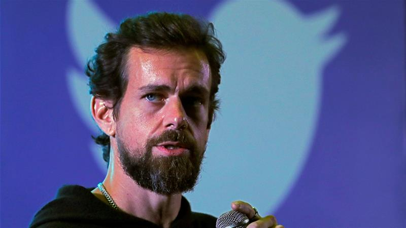 Dorsey visited Myanmar for a 10-day meditation retreat and tourism [File: Anushree Fadnavis/Reuters]