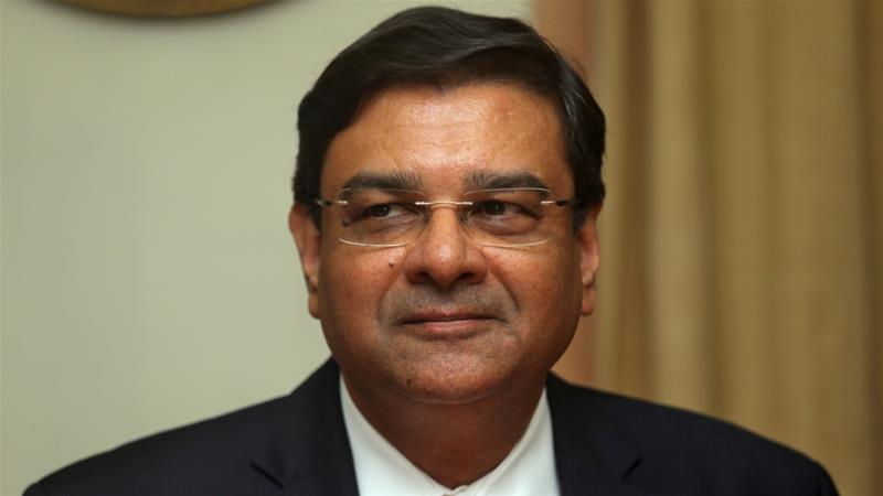 India's rupee slides as central bank chief quits