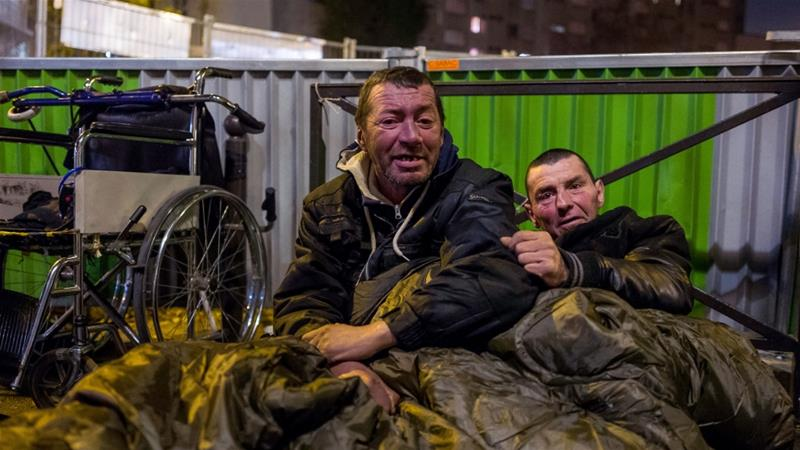 This is Europe: An image of homelessness in Paris